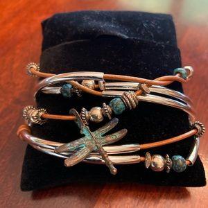 Lizzy James Dragonfly Bracelet/Necklace